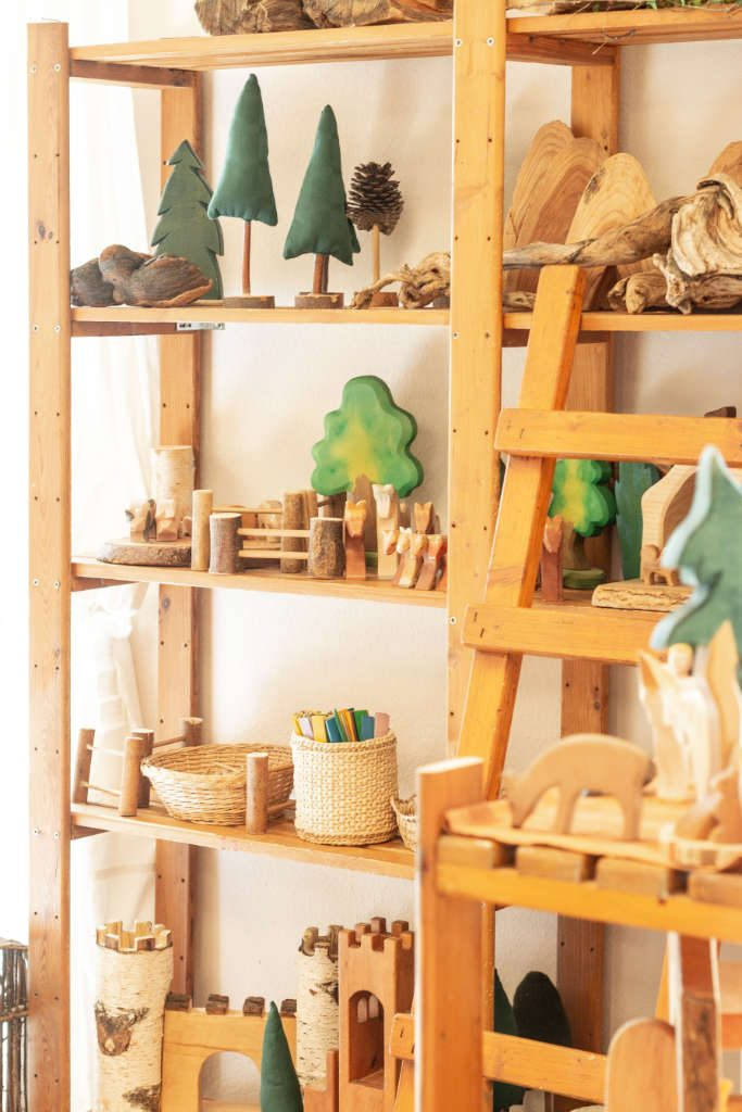 Holzspielzeug Kindergarte