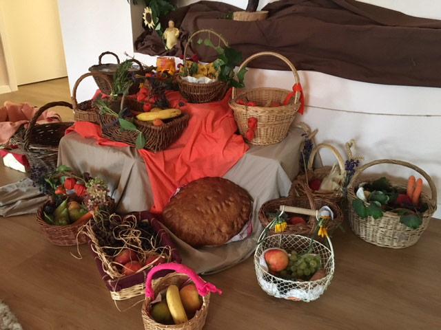 Erntedankfest im Kindergarten Weilheim Teck